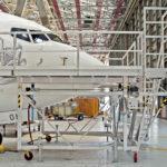 Qantas A737 - Nose Dock